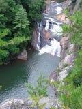 北部乔治亚瀑布 库存图片