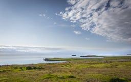 北部冰岛风景 免版税库存照片