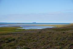 北部冰岛 库存照片