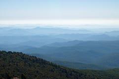 北部卡罗来纳州的山 图库摄影