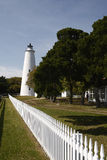 北部卡罗来纳州的灯塔 库存图片