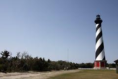 北部卡罗来纳州的灯塔 库存照片