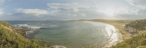 北部卷毛卷毛海滩 库存照片