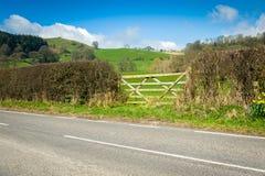 北部威尔士乡下风景 免版税库存图片