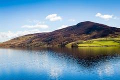 北部威尔士乡下风景 免版税图库摄影