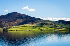 北部威尔士乡下风景 图库摄影