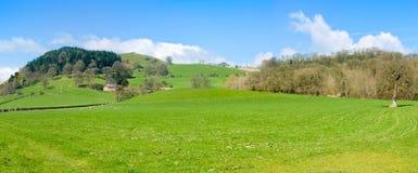 北部威尔士乡下风景 免版税库存照片