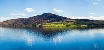 北部威尔士乡下风景 库存照片