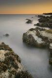 北部威尔士日落 图库摄影