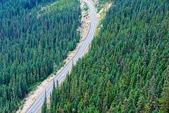 北部小瀑布高速公路 免版税库存照片