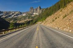 北部小瀑布高速公路 免版税库存图片