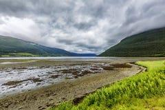 北部挪威自然 库存照片