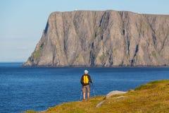 北部挪威 库存照片