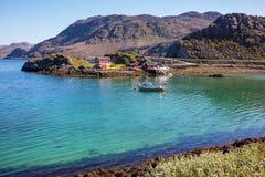 北部挪威 库存图片