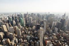 北部曼哈顿视图,社论 免版税库存图片