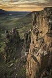 北部桌山,金黄, CO 库存照片