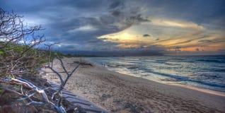 北部海滩Kaneohe陆战队基地夏威夷 免版税库存照片