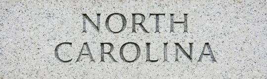 北部的卡罗来纳州 免版税库存照片