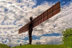 北部的天使,加兹海得,英国 免版税库存图片
