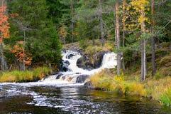 北部的秋天 库存照片