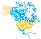 北部的美国 免版税库存照片