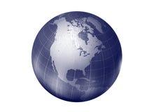 北部美国的地球 库存图片