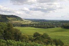 北部舍去乡下。 Dorking。 英国 库存图片