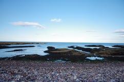 北部苏格兰峭壁 免版税库存图片