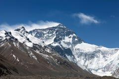 北部表面埃佛勒斯峰 库存照片