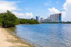 北部迈阿密海滩 图库摄影