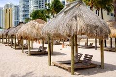 北部迈阿密海滩 免版税库存图片