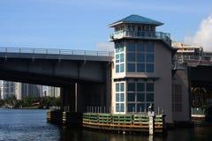 北部迈阿密海滩桥梁 库存图片