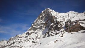 北部面孔艾格峰,瑞士 免版税库存照片