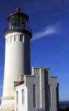 北部顶头的灯塔 库存照片