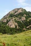 北部高加索的山麓小丘 库存照片