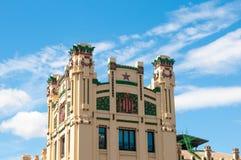 北部驻地大厦在巴伦西亚,西班牙 免版税图库摄影