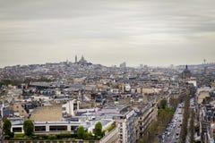 巴黎北部  库存图片