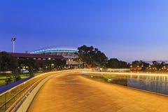 北部ADE的人行桥 免版税库存照片