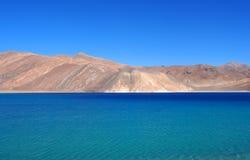 北部India湖 免版税库存照片