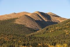 北风之山是13,082英尺在派克Natioanal森林 免版税图库摄影