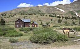 北风之通行证前面范围科罗拉多 免版税库存图片