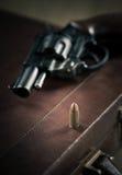 匪徒的左轮手枪 图库摄影