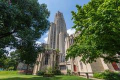 匹兹堡大学,宾夕法尼亚在北部奥克兰 库存图片