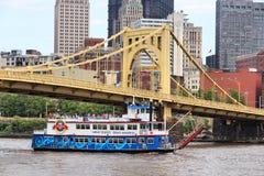 匹兹堡巡航 免版税库存图片