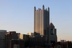 匹兹堡摩天大楼 免版税库存图片