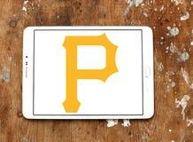 匹兹堡盗版棒球队商标 免版税图库摄影