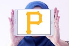 匹兹堡盗版棒球队商标 免版税库存照片
