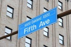 匹兹堡街道 库存照片