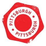 匹兹堡邮票橡胶难看的东西 免版税库存照片