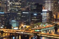 匹兹堡都市风景 免版税库存照片